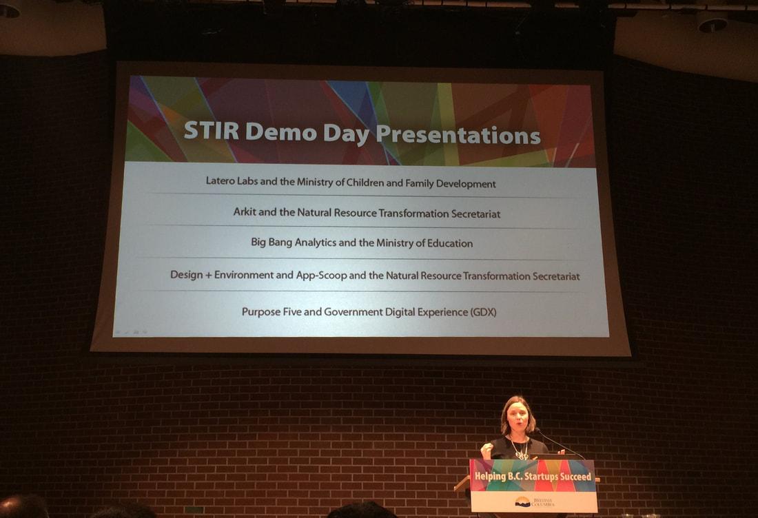 STIR Demo Day in Vancouver