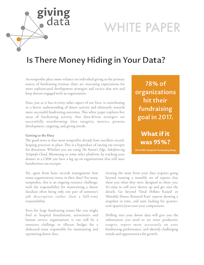 Is there money hiding in your data?